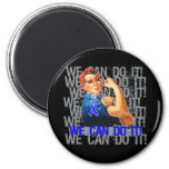 Reye's Syndrome Rosie WE CAN DO IT Fridge Magnet