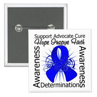 Reye's Syndrome Spiral Ribbon Buttons