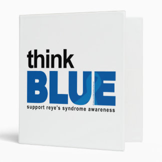 Reye's Syndrome Think Blue Binder