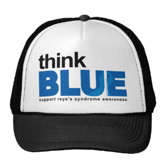 Reye's Syndrome Think Blue Trucker Hat