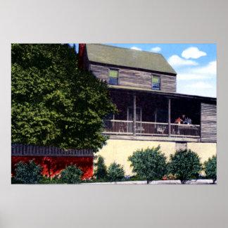 Reyes Tavern de Natchez Mississippi Poster