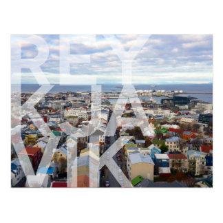 Reykjavík Cityscape POSTCARD