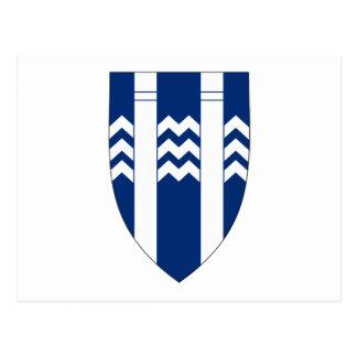 Reykjavik Coat of Arms Postcard