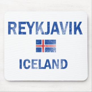 Reykjavik Iceland Designs Mouse Pad