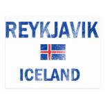 Reykjavik Iceland Designs Postcard
