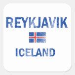 Reykjavik Iceland Designs Sticker