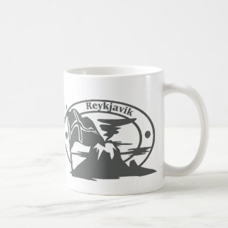 Reykjavik Stamp Coffee Mug