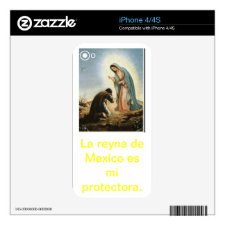 Reyna of Mexico is my protector Skin For The iPhone 4