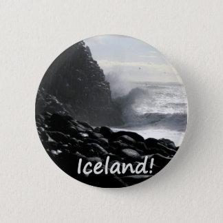 Reynisfjara Beach Iceland Button