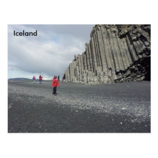 Reynisfjara black sand beach, Iceland Postcard