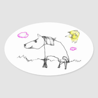 Reynold Oval Sticker