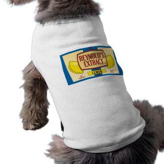 Reynold's Extract Lemon Extract Movie Mike Judge Doggie T Shirt