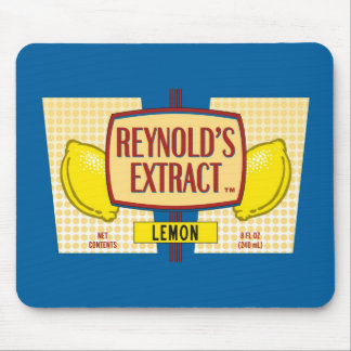 Reynold's Extract Lemon Extract Movie Mike Judge Mouse Pads