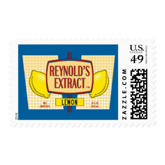 Reynold's Extract Lemon Extract Movie Mike Judge Postage Stamp