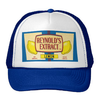 Reynold's Extract Lemon Extract Movie Mike Judge Trucker Hat