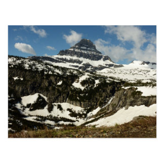Reynolds Mountain from Logan Pass at Glacier Park Postcard