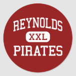 Reynolds - Pirates - Middle - Lancaster Round Stickers
