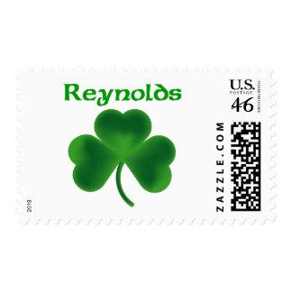 Reynolds Shamrock Stamps