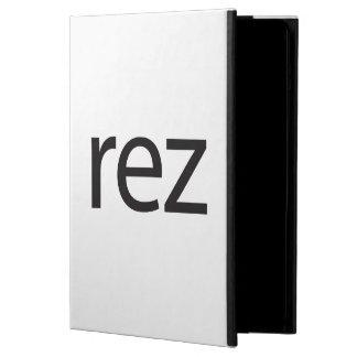 rez.ai cover for iPad air