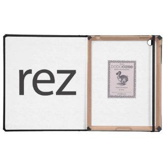 rez.ai iPad folio cases