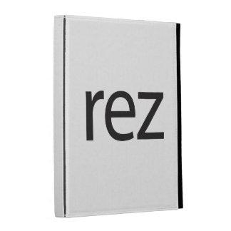 rez.ai iPad folio covers