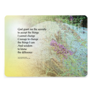 Rezo Boulder de la serenidad y mariposa Bush Anuncio Personalizado