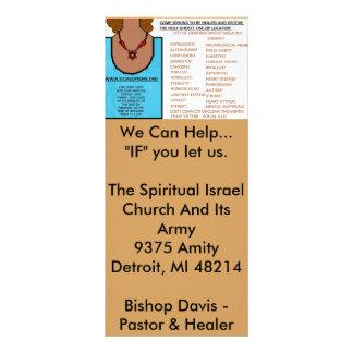 Rezo contestado - la fe de una semilla de mostaza tarjetas publicitarias
