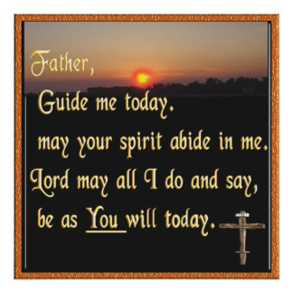 Rezo cristiano póster