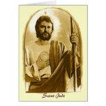 Rezo curativo a St. Jude Tarjeta