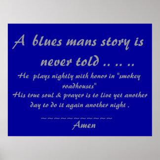 Rezo de Bluesmans…. Póster