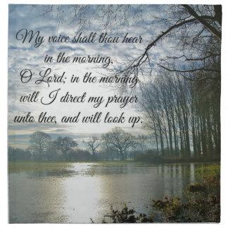Rezo de la escritura del verso de la biblia