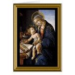 Rezo de la paz de St Francis - navidad Tarjeta