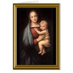 Rezo de la paz de St Francis - navidad Felicitacion