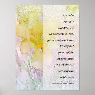 Rezo de la serenidad en la impresión española del  impresiones