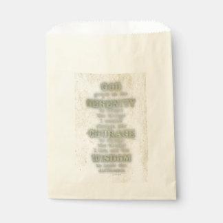 Rezo de la serenidad: Grunge, camuflaje, Bolsa De Papel