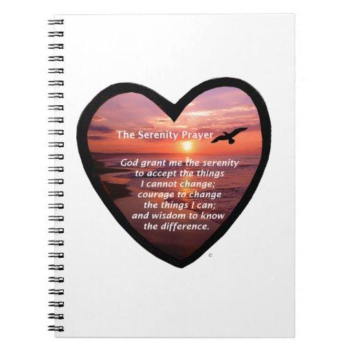 Rezo de la serenidad note book