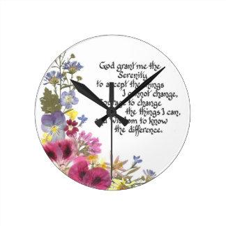 Rezo de la serenidad reloj
