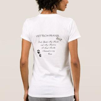 Rezo de la tecnología del veterinario camisetas