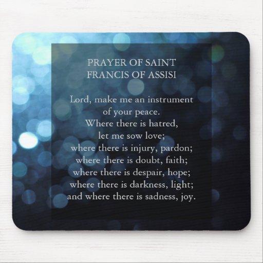 Rezo de los Franciscos de Asís del santo Tapetes De Raton