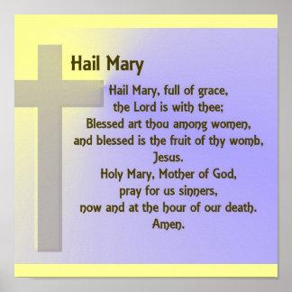 Rezo de Maria del Poster-Saludo