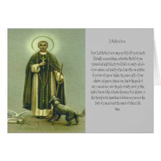 Rezo de San Martín Tarjeta De Felicitación