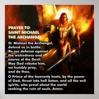 Rezo de San Miguel Póster
