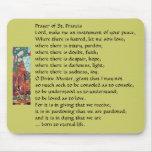Rezo de St Francis… Mousepad Alfombrillas De Ratones