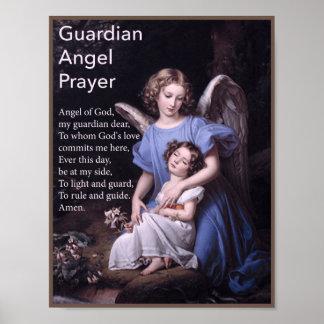 Rezo del ángel de guarda para el poster de los