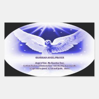 rezo del ángel de guarda rectangular altavoces