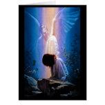 Rezo del ángel tarjeta