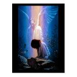 Rezo del ángel tarjeta postal