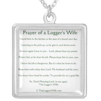 Rezo del collar de la esposa de un maderero