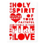 Rezo del Espíritu Santo Postal