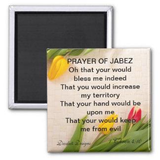 Rezo del imán del tulipán de Jabez
